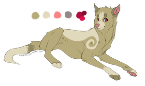 Dog adoptable by jealousapples