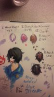 Bloody Painter Steps for Hair w/markers by CrystalStar202