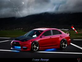 Lancer EVO by DemoDesign