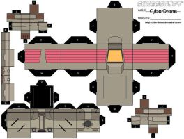 Cubee - Mobile Suit Leo 1 by CyberDrone