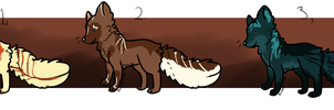 Canine Adoptables - closed - by Naeezadopts