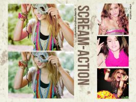 O2. Action Scream' by allmythoughts