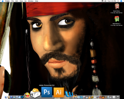 Pirate Drawing OS X by andys184