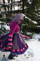 Cheshire Cat Sweater Coat by smarmy-clothes