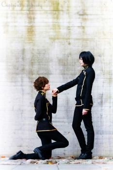Suzaku and Lelouch - Promises by TheCarebearFag