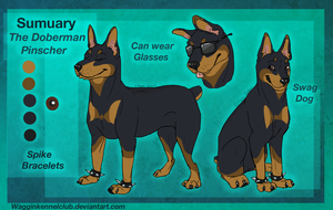 Sumuary ref-(commission) by WagginKennelClub