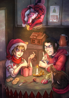 Pan's gift by Sally-Ce