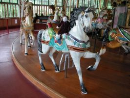 The Carousel and Bella by KatarniaHolbart