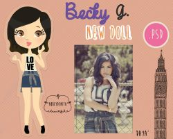 Becky G Doll by AbbeyDenith