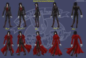 Alucard Profile Turn-Around by vendixnosferatu