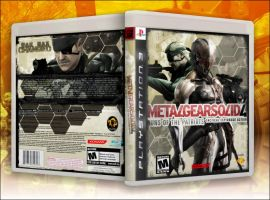 MGS4 Cover 2 by Farkwind