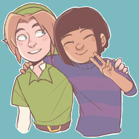 link and frisk by DapperPepper