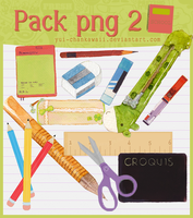 Pack png 2 ''School'' by Yui-chanKawaii