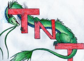 TNT Dragon by ToxicDragonBlood