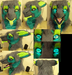 Axyz Sergal Head by DreamVisionCreations