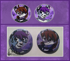 Custom Buttons- DreamInfinitely by TheCynicalHound