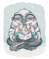 the not so abominable snowman by karo-design