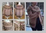 Itte no knussel - advent fair-isle cardigan 2015 by KnitLizzy