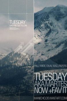 Tuesday Wallpaper by mauricioestrella