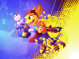 Ratchet and Clank by JLManzano