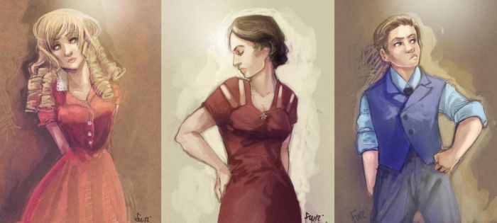 Comish - POST WWI chars by oneoftwo