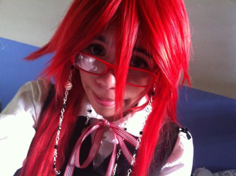 Grell Cosplay Teaser by ForeverOtaku
