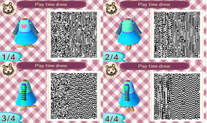 Play Time Dress QR Code by Bjnix248