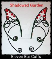 Shadow Garden Ear Cuff Pair by LadyAriessTemptra
