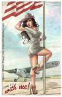 PIN-UP GIRL by J-Estacado