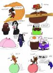 Chibi invasion part 3 by IllyDragonfly