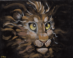 Young Lion by JessiRenee