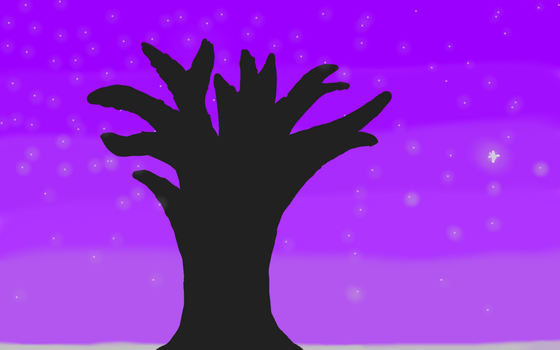 Tree In The Night by Superflash115