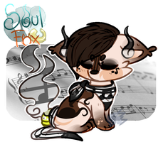 (Closed) Violinist SoulFox Adoptable Auction! by SetSaiI