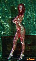 Pin Up of the day- sexy mosaik by eros2010