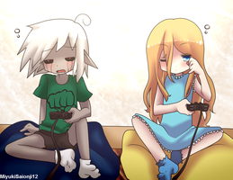 Request: Holly Gray and BEN Drowned by MiyukiSaionji12