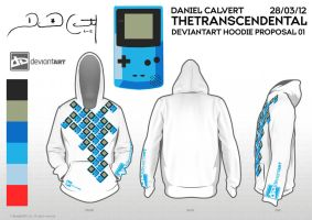 GameBoy Tile Hoodie by TheTranscendental