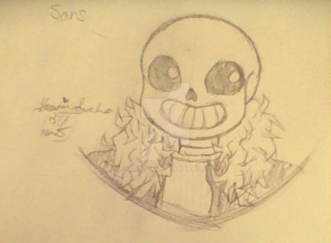 Undertale Sans by franny14