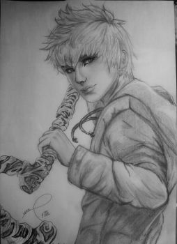 Jack Frost - Rise of the Guardians by NekoPhantomhive