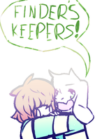 Finders keepers losers weepers by Minty-Draws