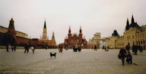 Red Square late winter by krigl