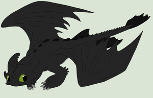 HTTYD Base 91~Nightfury 59~ by Xbox-DS-Gameboy