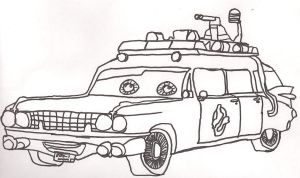 Ecto-1 -Cars version- by kbyyru