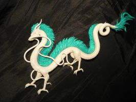 WIP - Haku the Dragon - Necklace by Ganjamira