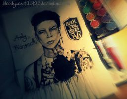 Andy Biersack by BloodyRose123123