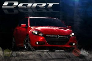 Dodge Dart Art by MightyMagic
