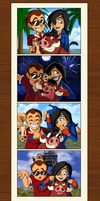 Photo OP with Timon n Pumbaa by Starimo
