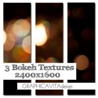3 Bokeh Textures by graphicavita