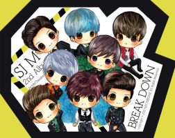 SJ M Break Down by MyCherishe