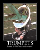 Trumpets. by Chuck-the-ADDragon