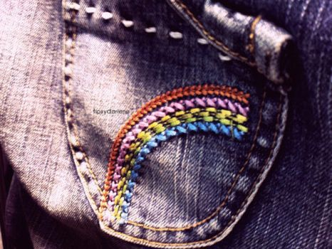Pocket of Rainbow by TipsyDarlene